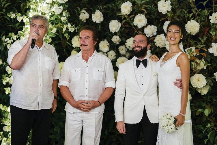 Berkay Şahin ile Özlem Katipoğlu'nun düğününden kareler