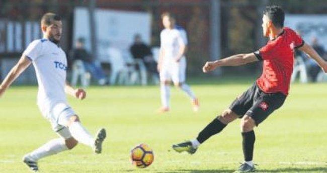 G. Birliği Ank. Demir'le hazırlık maçı yaptı: 1-0