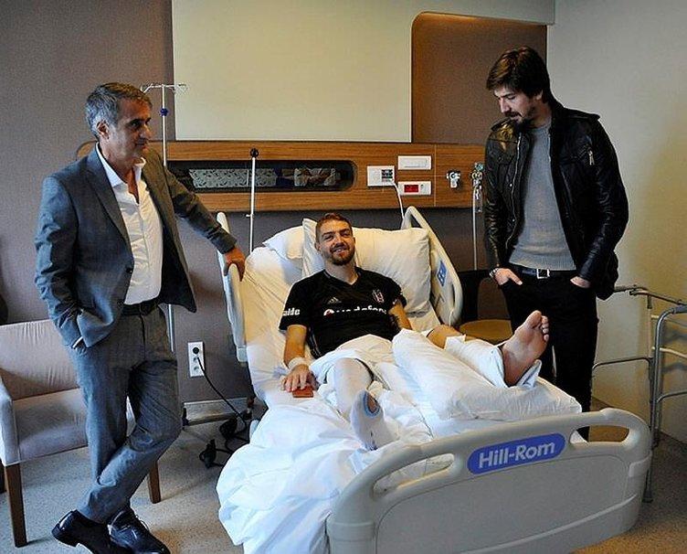 Beşiktaş'ta Caner'in sakatlığı sonrası senaryolar